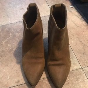 Tan western style boots